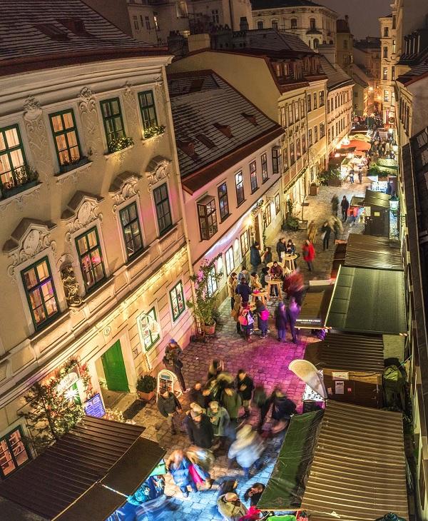 Spittelberg Christmas Market in Vienna