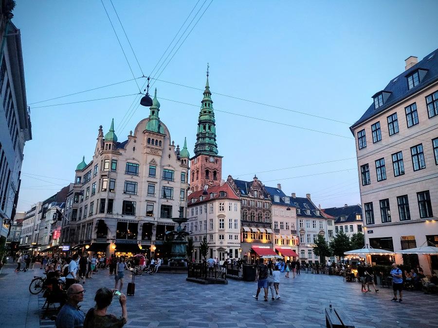 Stroget Street Copenhagen