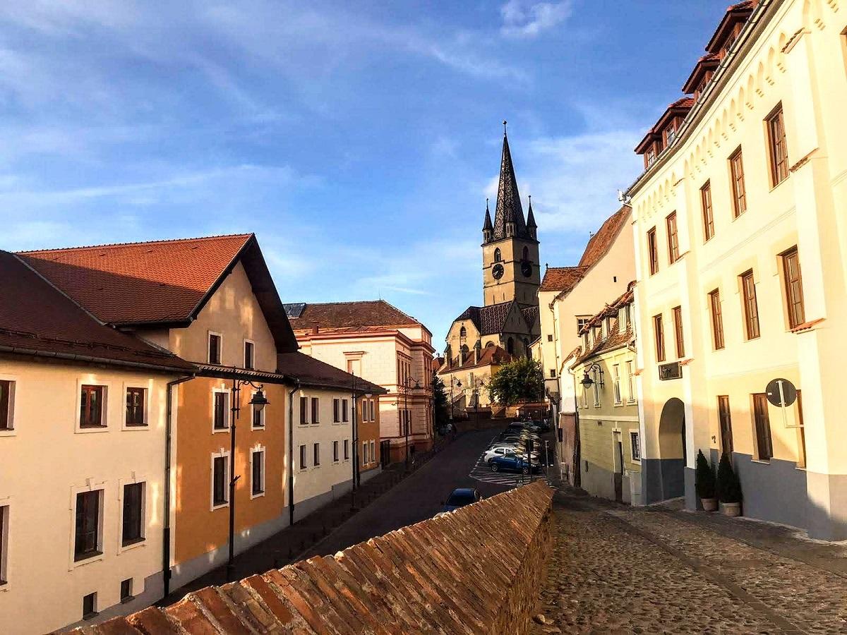 Sibiu houses with eyes